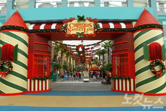 [여행의 찰나] 싱가포르 유니버셜 스튜디오의 크리스마스 풍경