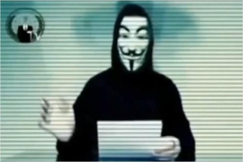 '테러전쟁'에 나선 어나니머스…지하디스트 사이트 해킹
