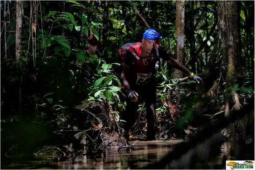 [영상]'쥬만지' 느낌? 아마존 '정글 마라톤'