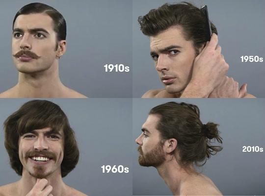 [영상]'남성미'의 변화…포마드부터 맨번스타일까지