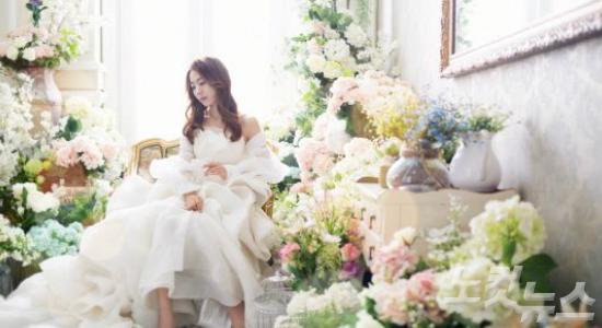작은 키, 통통한 신부는 귀여운 웨딩드레스가 딱