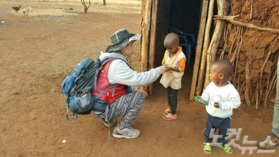 국제사랑의봉사단, '아프리카에서의 특별한 만남'