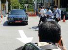 [포토] 북한 대사관 측, 말레이 외무부서 열린 회의 참석