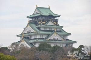 일본 3대 성 중 하나인 오사카성. (사진=땡처리닷컴 제공)