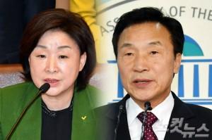 정의당 심상정 대표, 국민의당 대선 예비 후보 손학규 전 대표. (사진=자료사진)