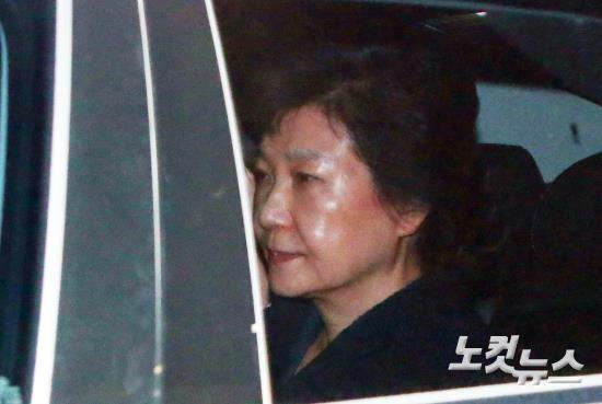 [박근혜 구속] 朴, 3주 사이 '靑→삼성동→구치소'