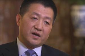 루캉 중국 외교부 대변인. (사진=유튜브 영상 캡처)