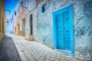 바닷가의 작은 도시 시디부사이드는 그리스의 산토리니를 연상케 하는 곳이다. (사진=웹투어 제공)