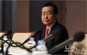 자유한국당 홍준표 대선후보. (사진=황진환 기자/노컷뉴스)