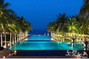 베트남에서 가장 아름답기로 소문난 하 마이(HA MY) 해변에 위치한 남하이 리조트다. (사진=스테이앤모어 제공)