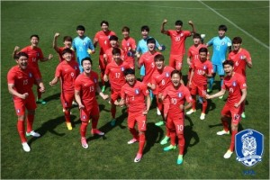 신태용 감독은 20세 이하 월드컵에 출전할 21명의 선수가 향후 한국 축구의 미래를 밝게할 재목이라고 평가했다.(사진=대한축구협회 제공)