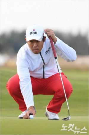 안병훈은 미국프로골프(PGA)투어 AT&T 바이런 넬슨에서 이틀 연속 언더파 스코어로 공동 3위로 본선 통과에 성공했다.(올림픽공동취재단)
