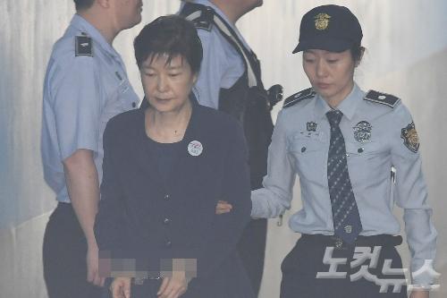 법원, 박근혜 구인영장 발부…31일 '비선진료' 재판 증인 출석