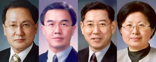 미래 유영민, 통일 조명균, 농림 김영록, 여성 정현백