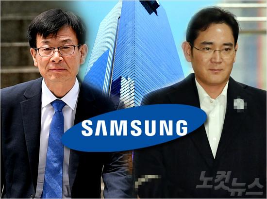"""김상조 """"朴, 삼성합병 용인해 줬을 것""""…이재용은 '미소'"""