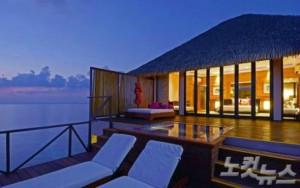 아다아란 프레스티지 바두 리조트(Adaaran Prestige Vadoo)는 전 객실이 워터빌라로 구성됐다. (사진=몰디브데이 제공)