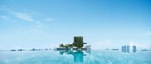 스위트룸 투숙 고객들에 한해 이용가능한 루프탑 수영장. (사진=스테이앤모어 제공)