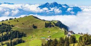 긴장됐던 결혼식의 부담을 내려놓고 환상적인 알프스의 나라, 스위스 풍광을 만끽해보자. (사진=투리스타 제공)
