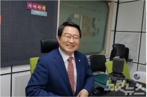 자유한국당 백승주의원 (사진=시사자키 제작팀)
