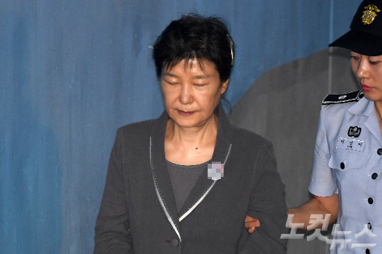 박근혜 '이재용 재판' 증인 또 거부…특검, 구인 실패