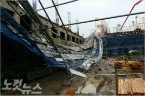 양서초등학교 사고 현장 모습(사진=포항CBS 자료사진)