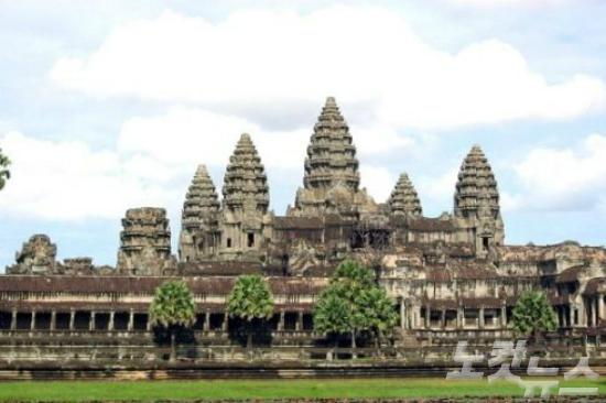 캄보디아에서의 여유로운 휴식 '일상탈출'