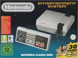 2016년 북미·일본에 출시된 손바닥 크기의 닌텐도 'NES 클래식 에디션'