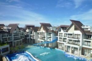 2012년 오픈한 크라운 리젠시 컨벤션 센터. 물을 테마로 한 리조트다. (사진=땡처리닷컴 제공)