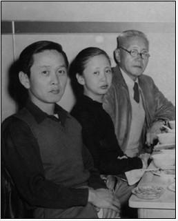 현순 가족사진(로스앤젤레스, 1948년). 맨 왼쪽이 피터 현. ⓒ David Hyun_출처[현앨리스와 그의 시대(정병준 지음, 돌베개, 2015)].