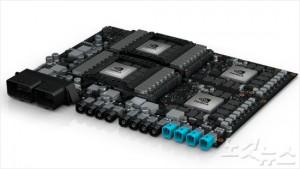 세계 최초의 로봇택시용 인공지능 컴퓨터 '엔비디아 드라이브 PX 페가수스'