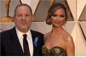 웨인스타인과 그의 아내 조지나 채프먼. 사진=유튜브 영상 캡처