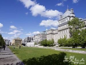 마치 유럽에 와있는 듯한 착각이 드는 아름다운 도시 몬트리올. (사진=자유투어 제공)