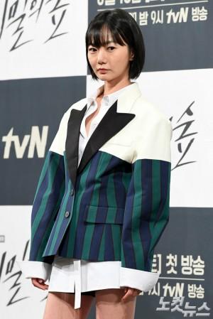넷플릭스의 6부작 드라마 '킹덤'에서 의녀 서비 역으로 캐스팅된 배우 배두나 (사진=박종민 기자/자료사진)