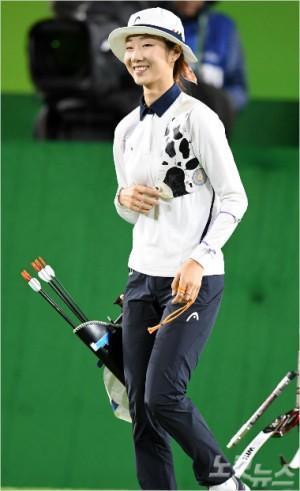 여자 양궁의 최미선이 대한민국체육상 경기상을 수상한다 (사진=노컷뉴스)