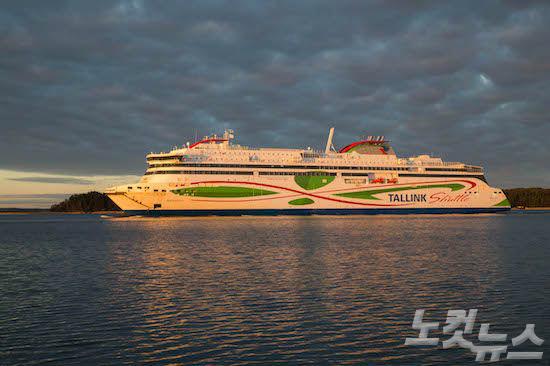 탈린크실야라인의 메가스타, '2017 친환경 선박'으로 선정