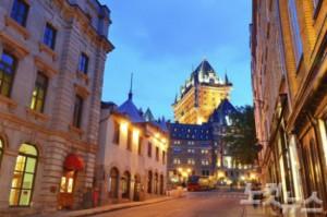 퀘벡은 북아메리카에서 유일하게 성벽으로 둘러싸인 성곽도시로 이름 높다. (사진=노랑풍선)