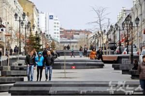 젊음의 거리 아르바트는 야경이 아름답기로 유명한 번화가이다(사진=웹투어 제공)