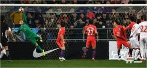 대구FC의 주전 골키퍼는 국제축구연맹 세계랭킹 38위 세르비아를 상대로 멋진 선방을 선보이는 등 잊을 수 없는 A매치 데뷔전을 치렀다. 울산=이한형기자