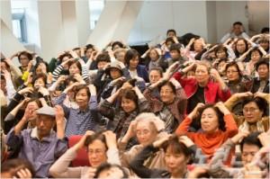 우리들교회에서 어르신들을 대상으로 진행하는 백세학교. (사진=우리들교회 제공)