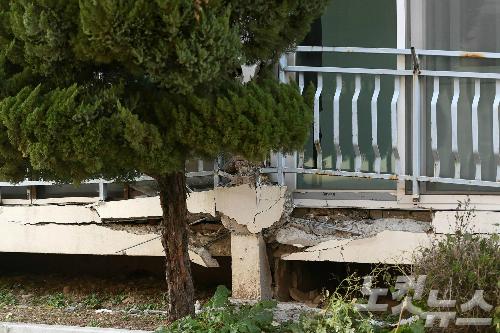 지진 발생한 포항 흥해읍 땅속서 '빈 공간' 7곳 발견