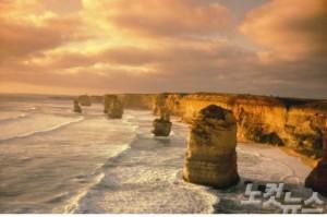 그레이트 오션 로드는 세계 10대 명소 중 하나로 꼽힐 정도로 아름다운 자연경관을 만날 수 있다. (사진=머뭄투어 제공)