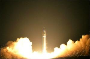 화성-15형 미사일. (자료사진)