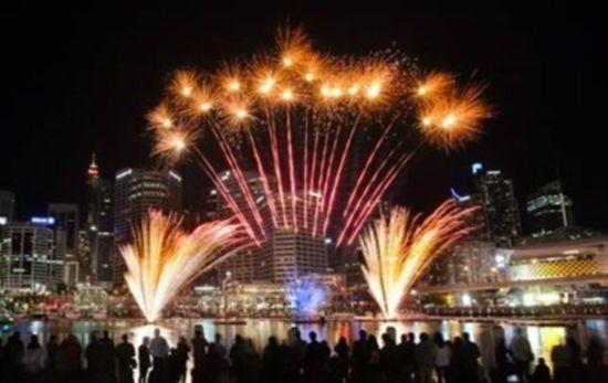 '시드니 새해 불꽃축제' 명당은 바로 여기