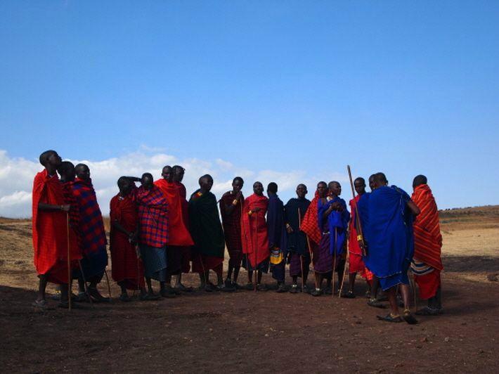아프리카 초원의 전사 '마사이족'과의 조우