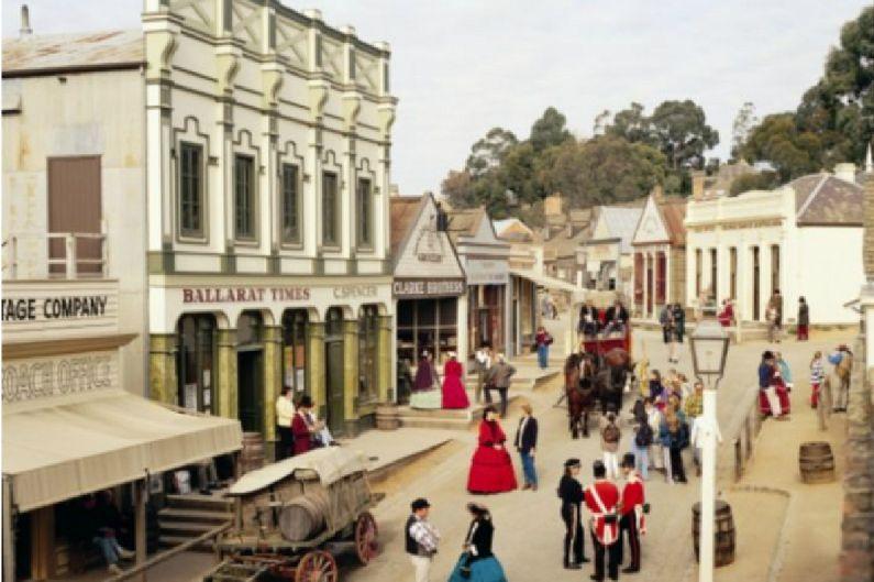 여행지서 금을 채취하다…호주 민속촌 '소버린 힐'