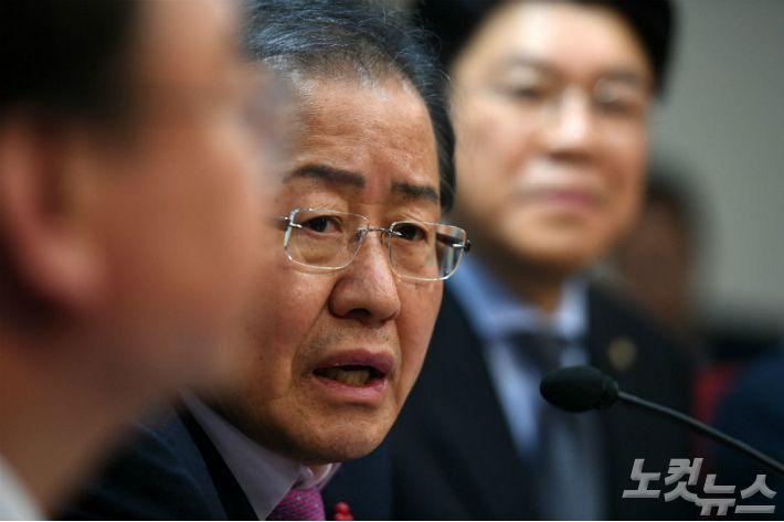 홍준표 남북 대화, 북핵 완성 시간 벌어주기 아닌가