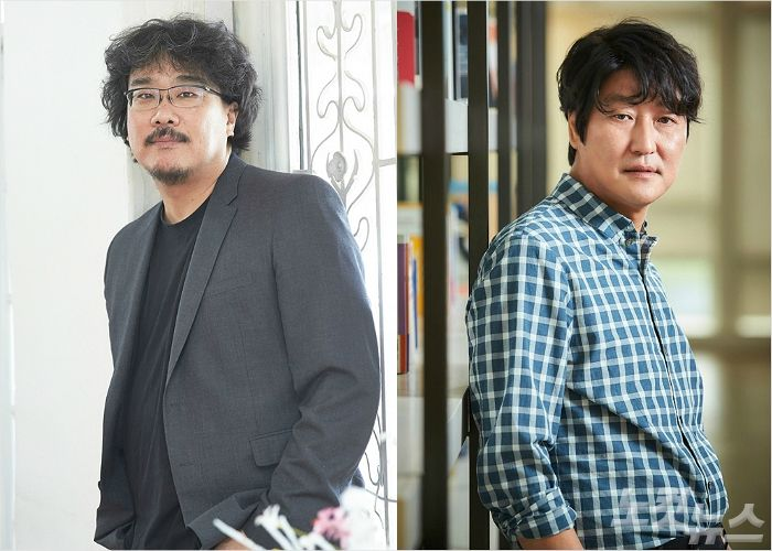봉준호X송강호 4번째 영화 '패러사이트'…주요 캐스팅 공개