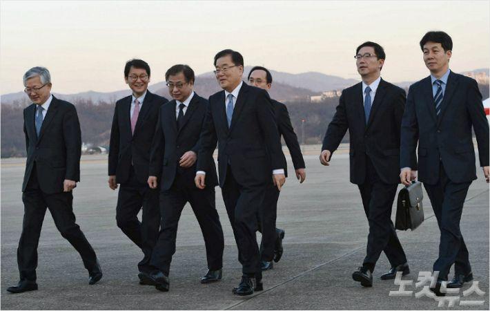 정의용·서훈 오늘 미국행···'북미대화' 설득할까?
