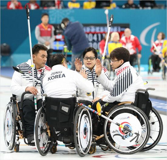 韓 휠체어 컬링, 8년 만의 메달 무산