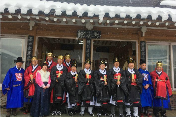 경산 남천…발해왕조 춘분대제 봉행